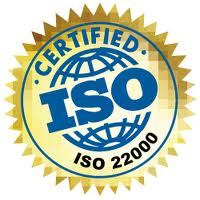Сертификаты ISO 22000 (НАССР)